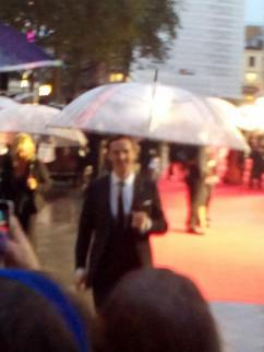 My tablet became overwhelmed at Benedict's beauty so went blurry..